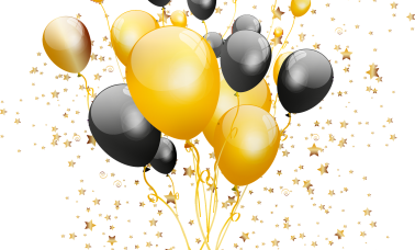 gold-and-black-balloons-4567963_1920